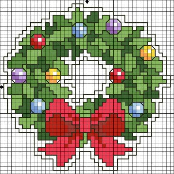11 Easy Christmas Cross Stitch Charts