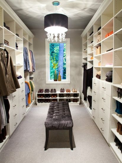 walk in master closet redo | Dunthorpe Estate Oregon Walk In Closet, Contemporary Closet, Portland
