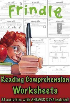 This packet will not only assess the students  39  comprehension of each chapter  but goes on to reinforce the story elements  provides practice with various reading skills  and examines the author  39 s craft  Art activities included too  Your students will get