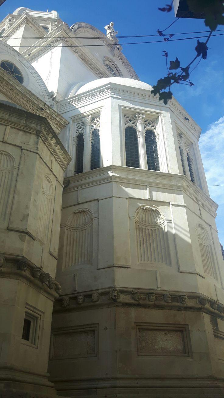 Zona absidale della Cattedrale di Sebenico.  1536
