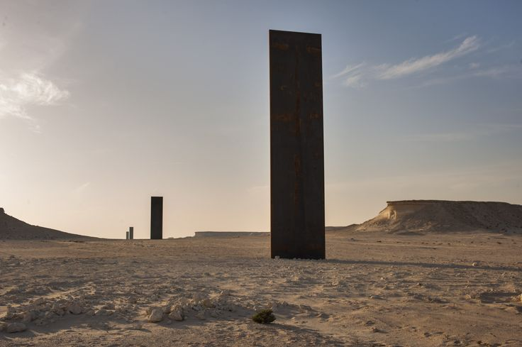 Richard Serra, Pustynia Zekreet / Katar   ART   Pinterest ... Richard Hell