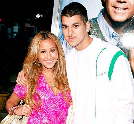 "Adrienne Bailon ""Excited"" to Have Rob Kardashian Tattoo Removed - Us Weekly"