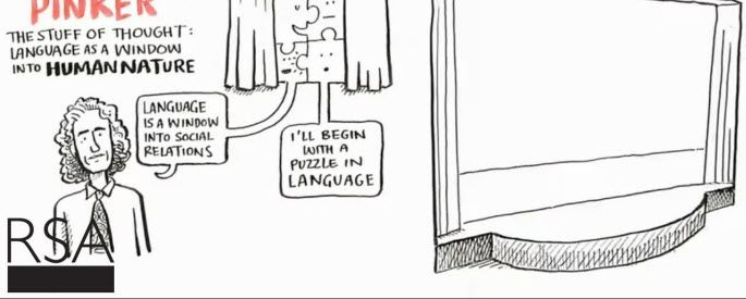 RSA Animate - Language as a Window into Human Nature - Steven Pinker - Plus Your Life!