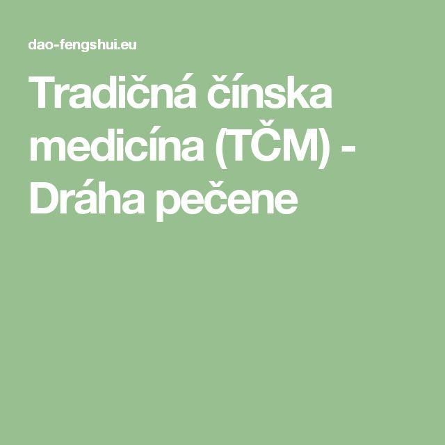 Tradičná čínska medicína (TČM) - Dráha pečene