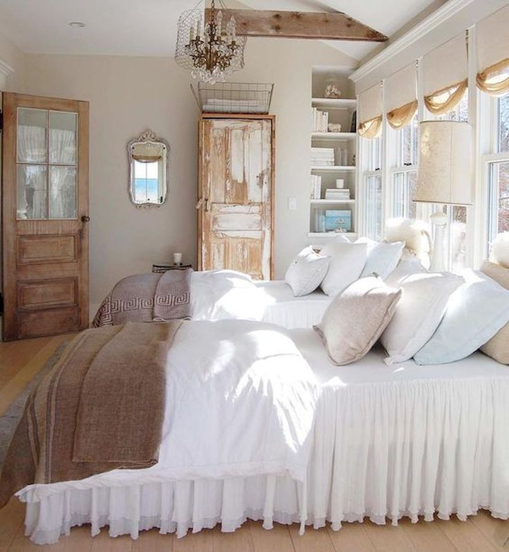 45 Most Popular Rustic Farmhouse Bedroom Design And Decorating Ideas 45 Most Popular Rustic Farmhou Home Decor Bedroom Farmhouse Bedroom Decor Bedroom Design