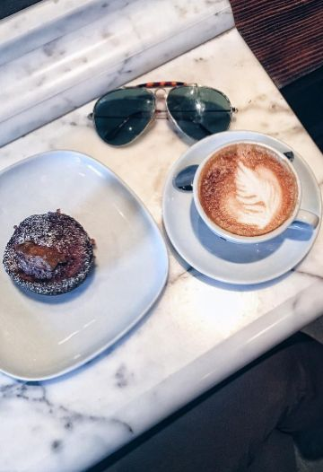Local city guide—Edmonton. Lock Stock Coffee: Jasper Avenue. (What we love: when your favourite late night spots open up a small space for your day time rituals. This is the perfect morning stop, nestled between it's co-owned restaurant and bar).