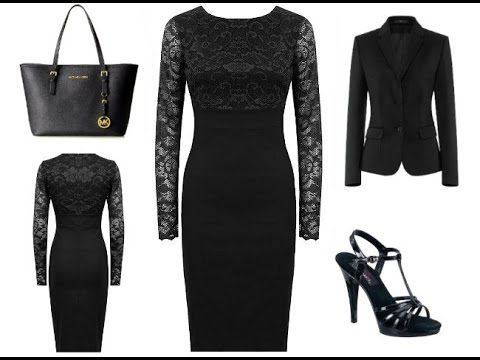 Schwarzes Etuikleid mit Jacke + Outfit Tipps: http://youtu.be/yJvg2HleA3k http://www.kleider-deal.de/schwarz-etuikleid-mit-jacke/ #Etuikleid #Jacke #Outfit #Kleider #Fashion