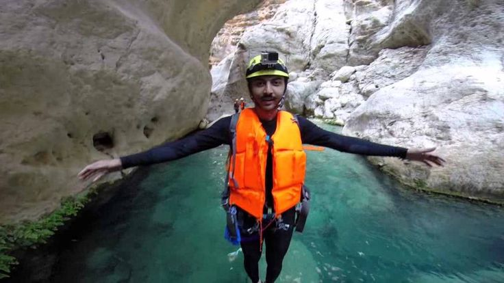 Canyoning the Zagros