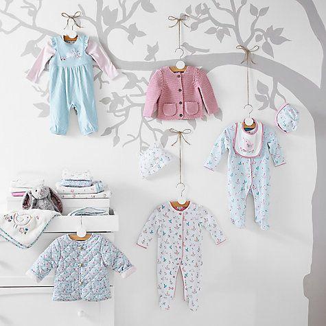 Buy John Lewis Vintage Floral Babywear & Nursery Collection Online at johnlewis.com