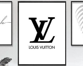 Louis Vuitton imprimer téléchargement immédiat