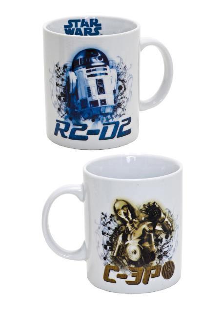 Taza Star Wars. R2D2 y C3PO