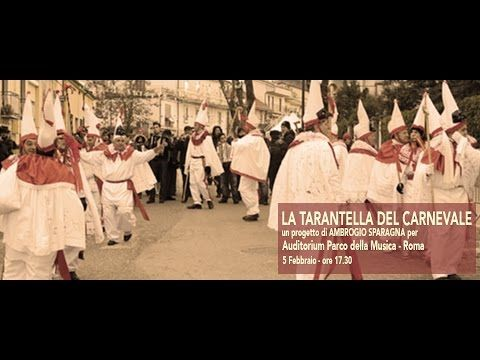 Ambrogio Sparagna, La Tarantella del Carnevale - LIVE @ Auditorium Parco...