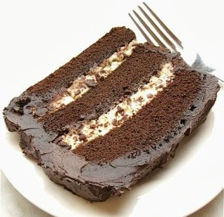 Chocolate Cannoli Cake Recipe - Yummi Recipes