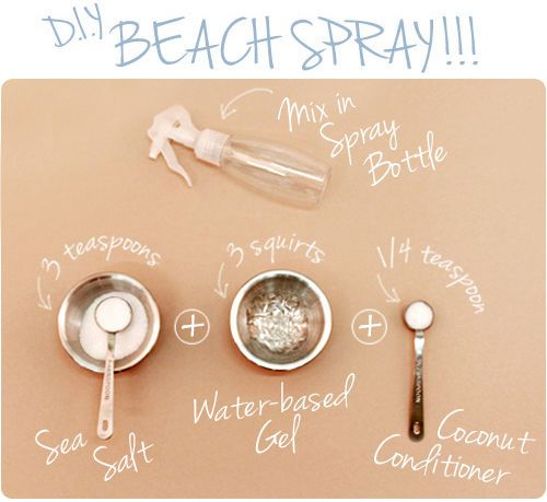DIY: Saltwater Beach Spray!