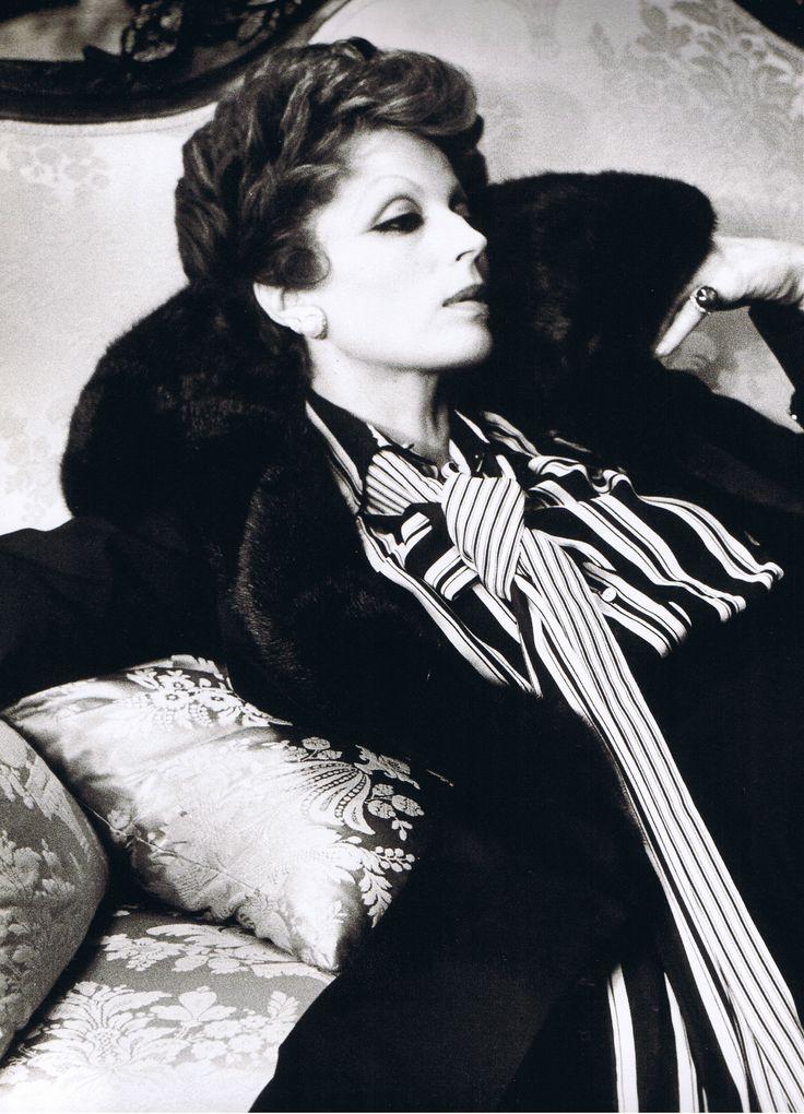 Silvana Mangano in Gruppo di famiglia in un interno directed by Luchino Visconti, 1974