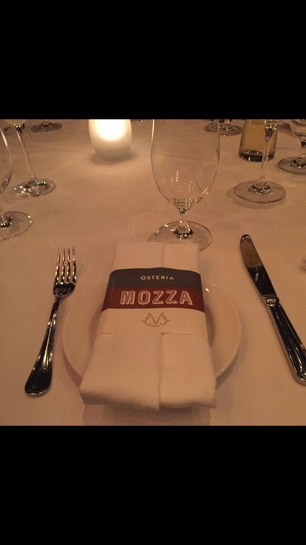 Dinner at Mozza