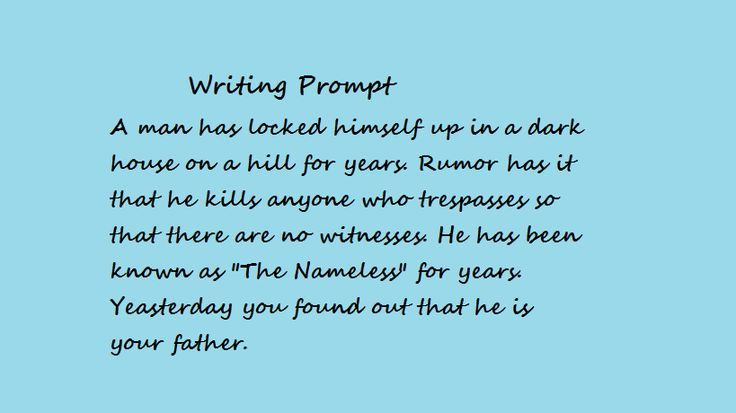 creative writing prompts suspense