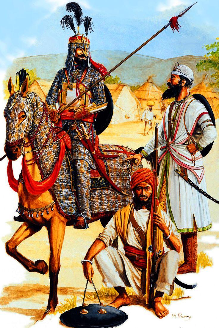Ghorchurra sardar warriors, 1799–1849