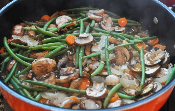 High-Protein Mushroom Stroganoff. I'm always looking for high protein, low carb recipes. This one fits the bill perfectly.