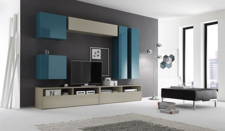 Έπιπλα Σπιτιού - Σύνθεση Τοίχου Linea Color 5