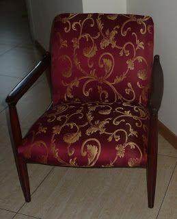 Ręko-czyny: Piękny i dostojny fotel projektu prof. Homy