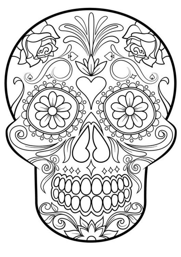 20 Padrisimos Mandalas De Dia De Muertos Para Imprimir Y Colorear Mujer De 10 Guia Real Para La Mujer Actual Enterate Ya Mandalas De Calaveras Calaveras Mexicanas Para Colorear Calaveras Para Colorear
