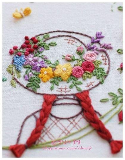 초록지붕집의 앤 - 빨강머리앤 프랑스자수 : 네이버 블로그
