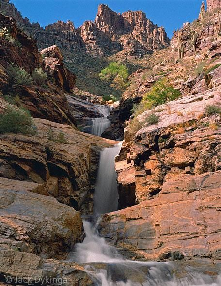 this one isn't hot either, so sue me... :) /// Seven Falls in Tucson, AZ. - I loved this hike. Do this one again and plan for swim time.