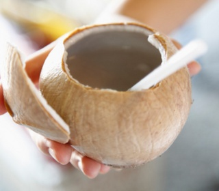 Cure a Hangover with Coconut Water (Good 2 know for new years day, post partying)
