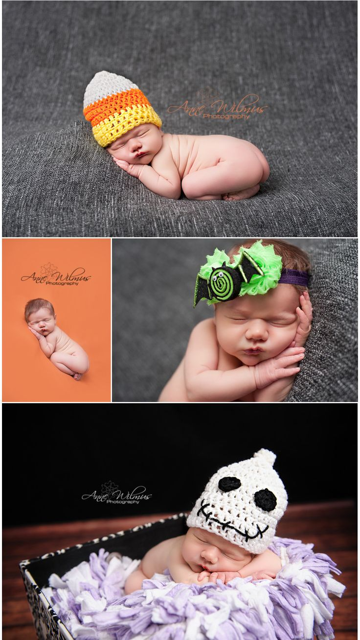 newborn photography; he'll be an October baby :) so cute love the ghost one on the bottom