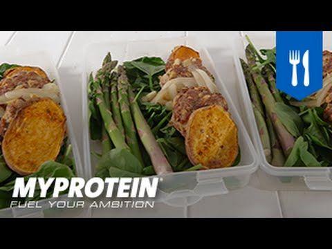 Hambúrgueres de Peru com Batata Doce | Myprotein Portugal