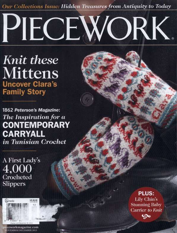 106 best piecework magazine images on pinterest knitting books piecework novemberdecember 2013 fandeluxe Gallery