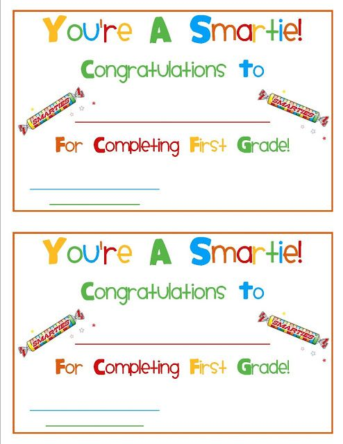 24 Best Images About Pre K AwardsEnd Of Year On Pinterest