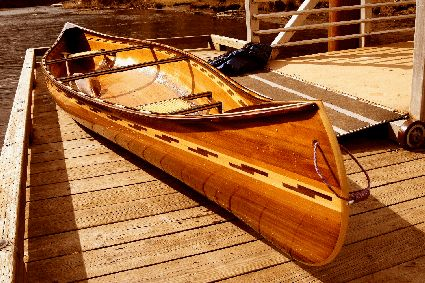 Custom Built: White Salmon Boat Works. Cedar strip boats ...