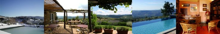 "Photo of La Locanda, Charming Hotel in Chianti, Tuscany, Italy ""Scenic property, magnificent position facing the medieval Volpaia and endless panorama"" - Karen Brown, Italy,Tuscany and Umbria charming bed and breakfast and country inn"