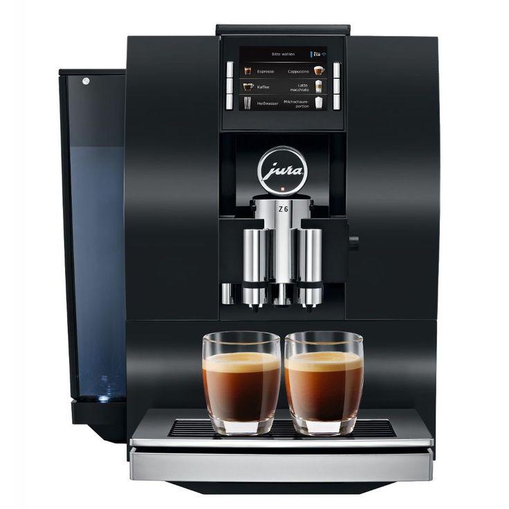 Jura Z6 Automatic Coffee Machine, Aluminum Black