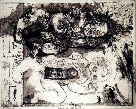 Art by Diane Victor, a South African artist | Kuns deur Diane Victor, 'n Suid-Afrikaanse kunstenaar