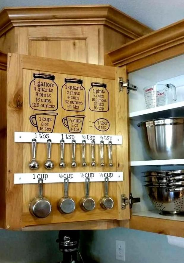 20 Creative DIY Kitchen Storage and Organization |…