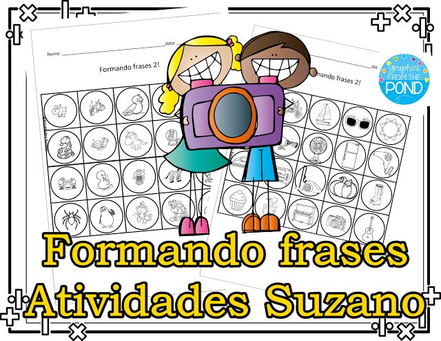 Formando frases 2 - Atividades Adriana