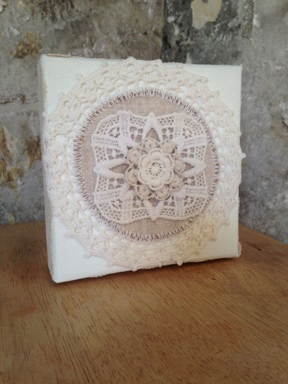 Cottage chic white lace Victorian style by EnchantedLaceDecor