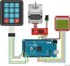 17 best ideas about arduino stepper motor control on for Stepper motor position control