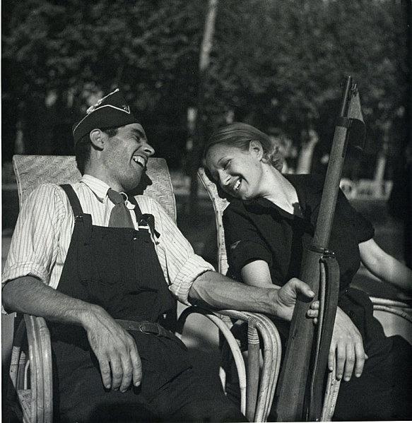 Gerda Taro, Barcelona,1936