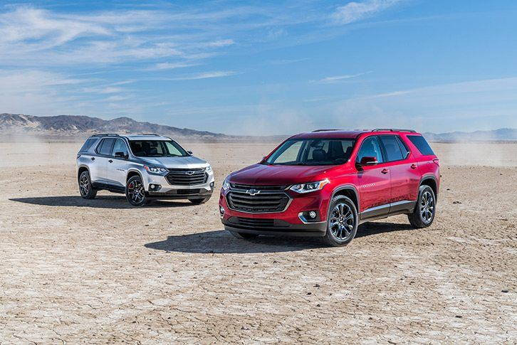 Chevy Turbocharged The New Traverse Rs Wide Open Roads