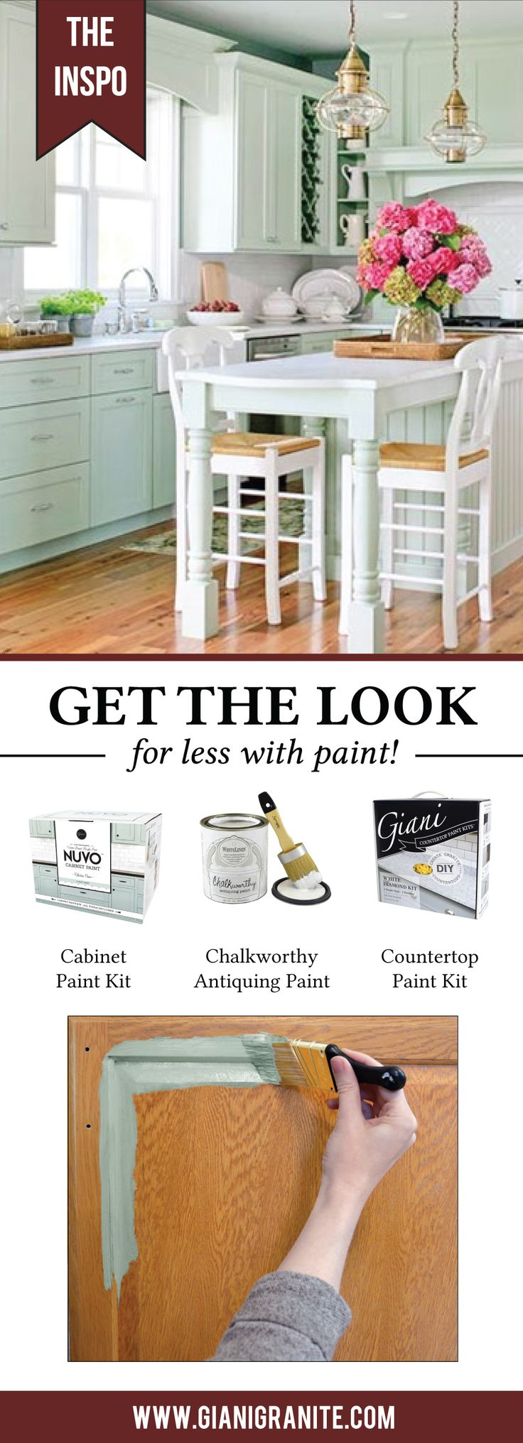Get the Look for Less  Mint Cottage. 18 best Get the Look for Less with Paint  images on Pinterest