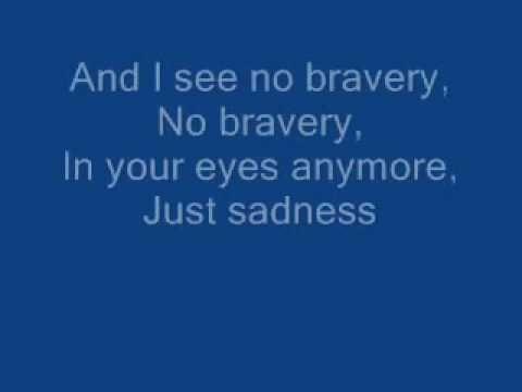 James Blunt - No Bravery lyrics