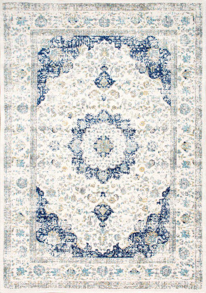 Traditional Medallion Verona Traditional Floors Blue