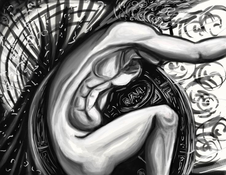 Alessia H.V., 'The Wheel', digital, 2014/2015.
