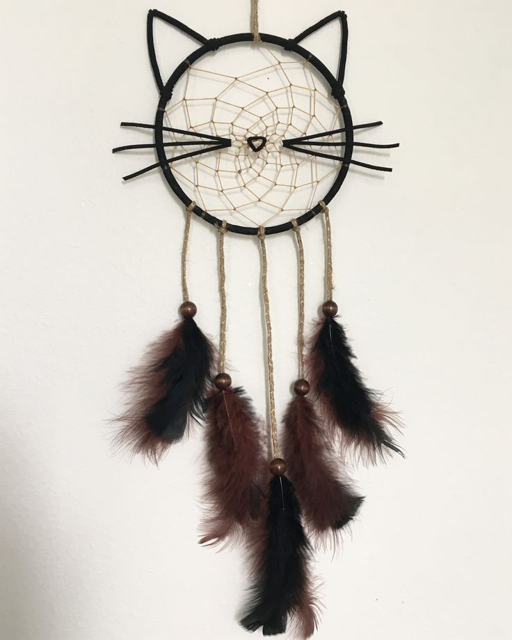 Kitty cat dream catcher