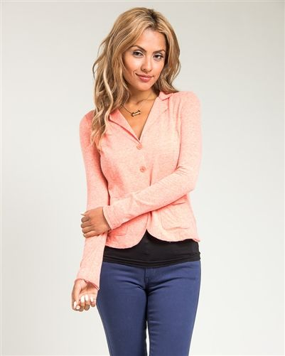 Coral 3 Button Office Blazer