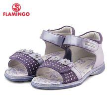 ФЛАМИНГО известный бренд 2016 Новая Коллекция Весенние и Летние Дети Мода Высокого Качества сандалии для девочек